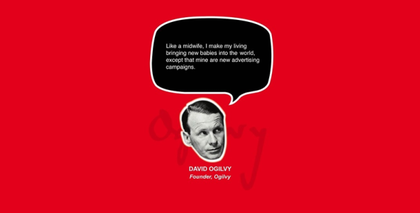 David Ogilvy Quotes Awesome 32 Great Quotes From Advertising & Marketing Experts