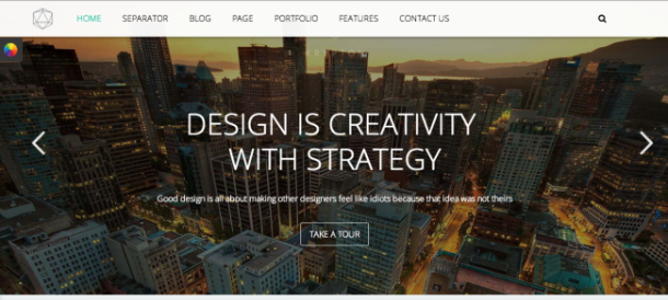 Krypton WordPress theme