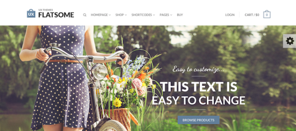 Flatsome premium wordpress theme