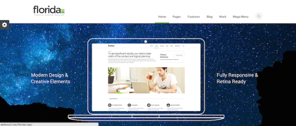 Florida premium wordpress theme