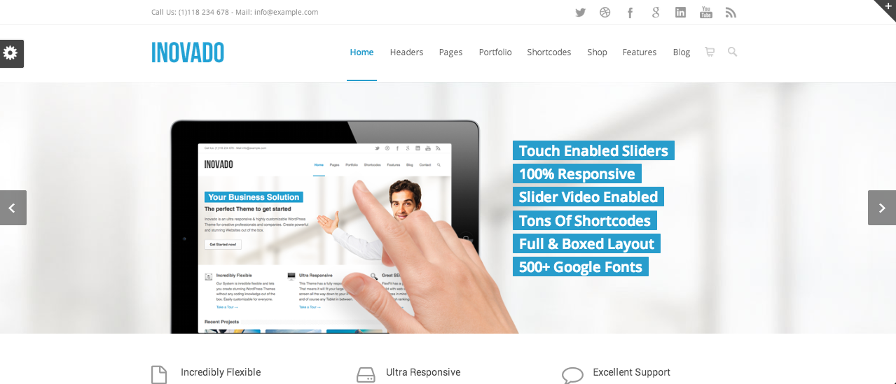 Screen Shot 2014 02 27 at 09.26.35 109 Beautiful Premium Responsive Wordpress Themes