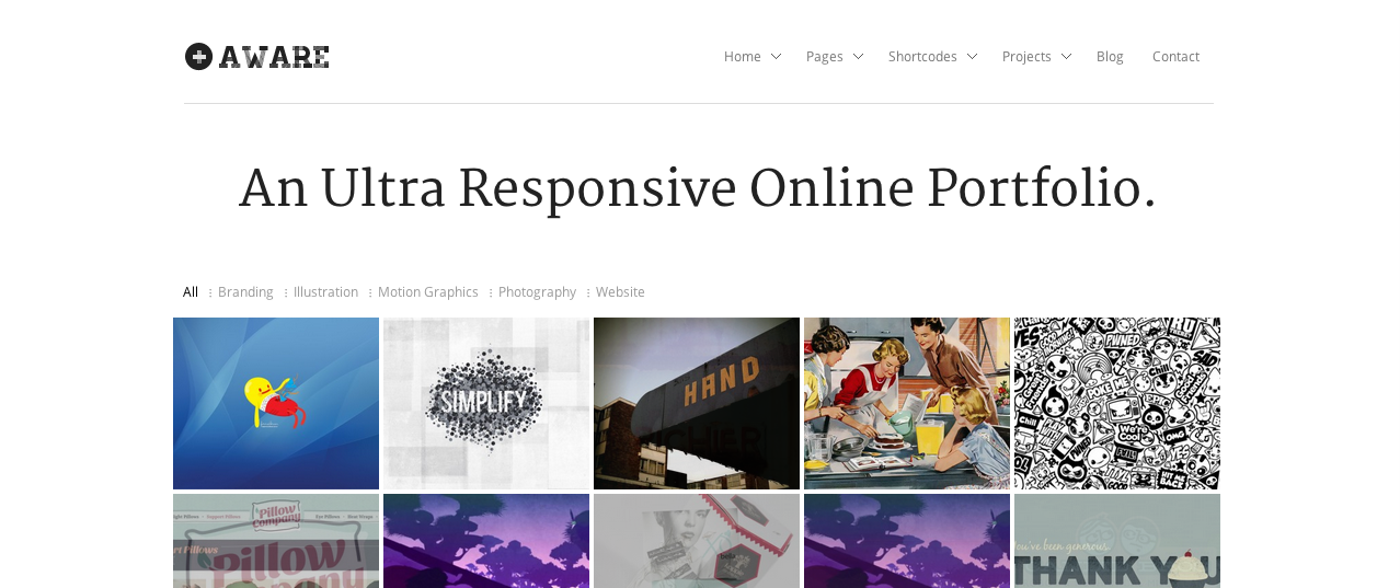 Aware premium WP theme