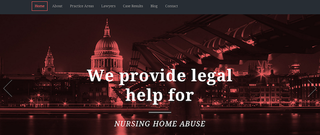 Lawyers premium WP theme