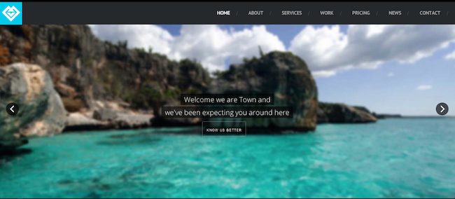 Town WordPress paid theme