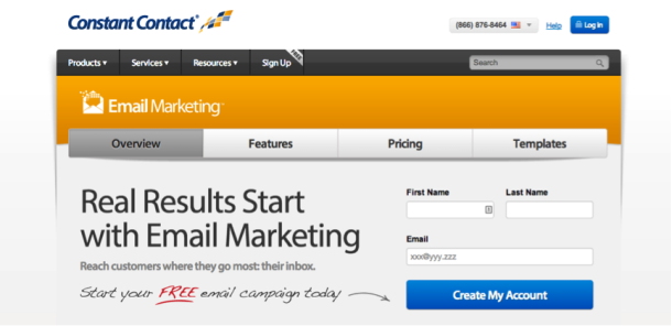constant contact Email Marketing Software / Services   Which One is the Best?