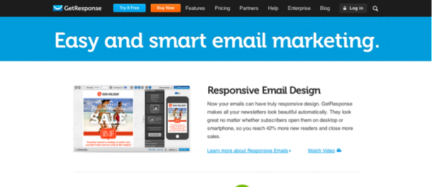 get response Email Marketing Software / Services   Which One is the Best?