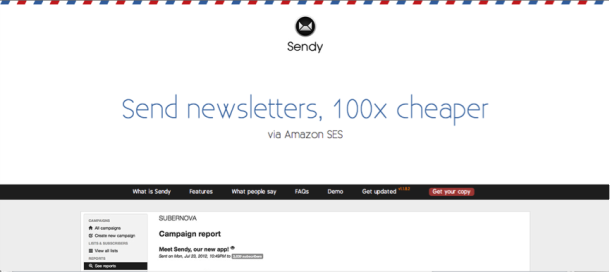sendy send newsletters cheaper Email Marketing Software / Services   Which One is the Best?