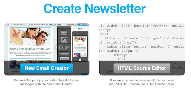 create newsletter