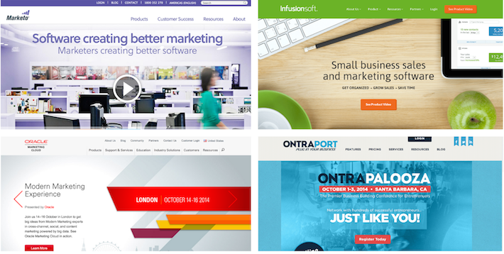 Marketo vs. Infusionsoft, Pardot, Ontraport, Hubspot, and Eloqua