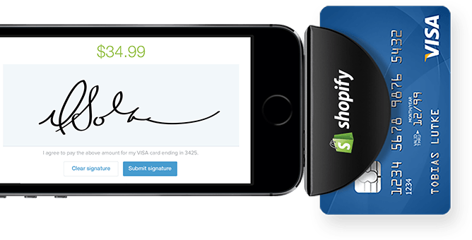 Shopify mobile payments