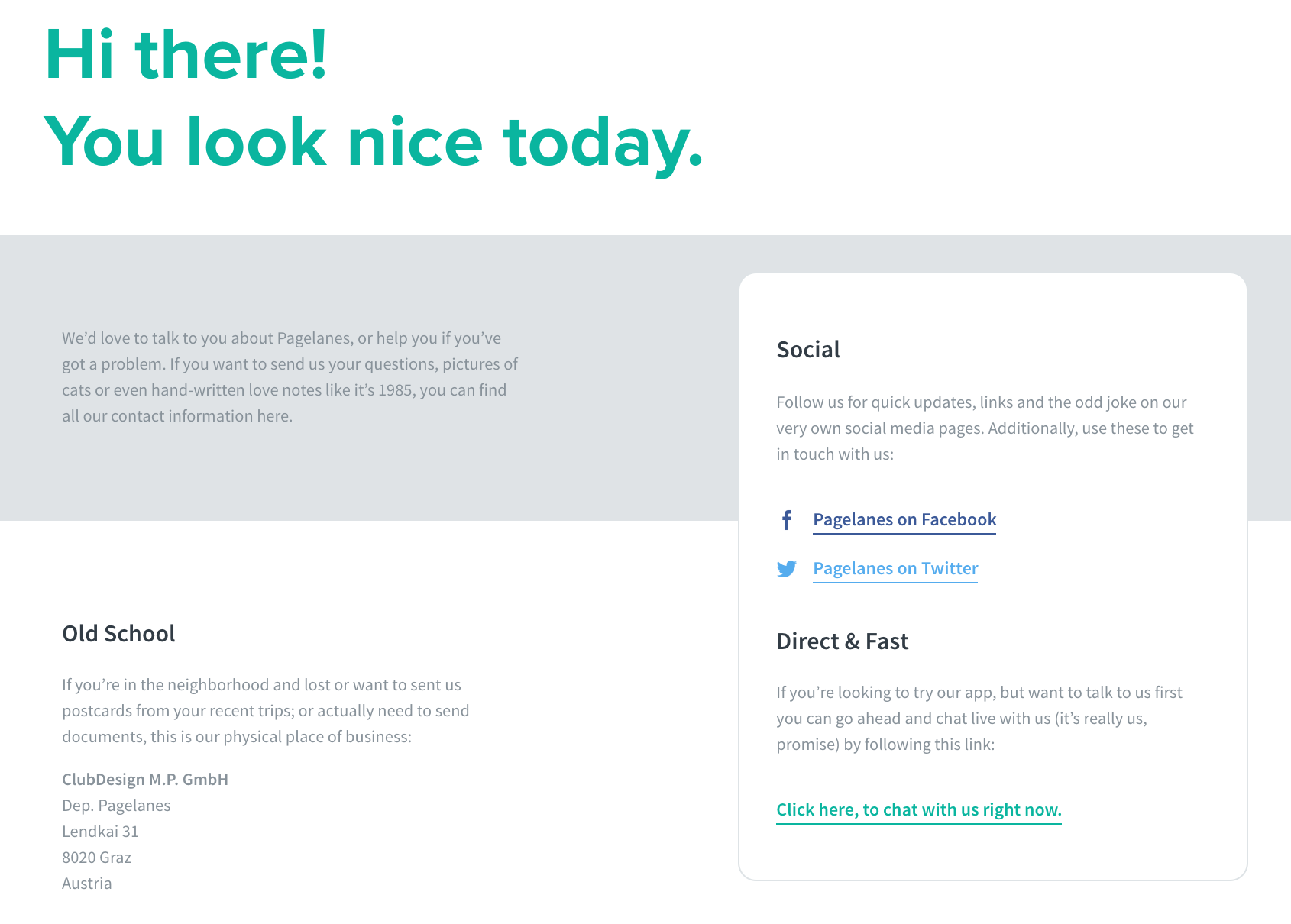 contact form design 15 best contact page examples of 2019 Personal Links Page this may sound odd coming from an article looking at contact forms but pagelanes comes up with an interesting no form alternative for its contact page