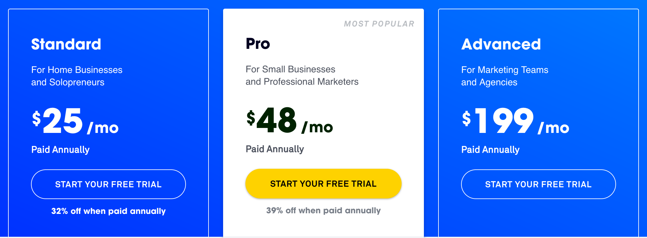 The Leadpages Pricing PDFs