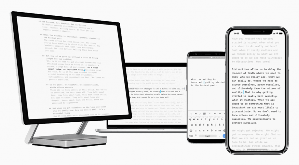 10 Best Distraction Free Writing Apps for Bloggers, Writers & Authors